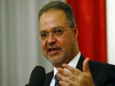 """وزير الخارجية """" المخلافي """" يلتقي السفير الروسي لدى اليمن"""
