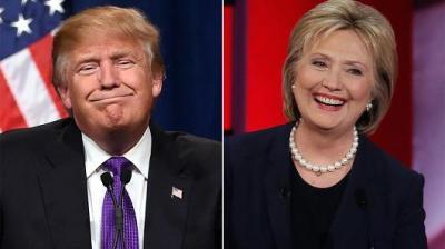 أحدث استطلاعات الرأي: فرص كلينتون في الفوز بالرئاسة الأمريكية تصل إلى 90%