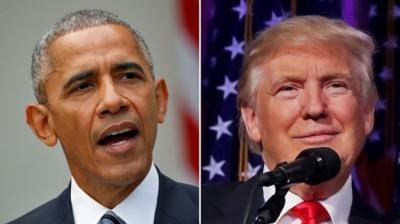 أوباما يستقبل ترامب في البيت الأبيض الخميس للتباحث في سبل ضمان انتقال سلس للسلطة