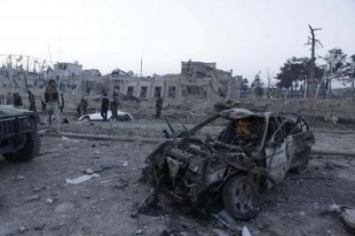 قتلى وعشرات الجرحى في انفجار هز القنصلية الألمانية بشمال أفغانستان